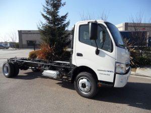 2016 Hino Hybrid 195h - california medium duty trucks