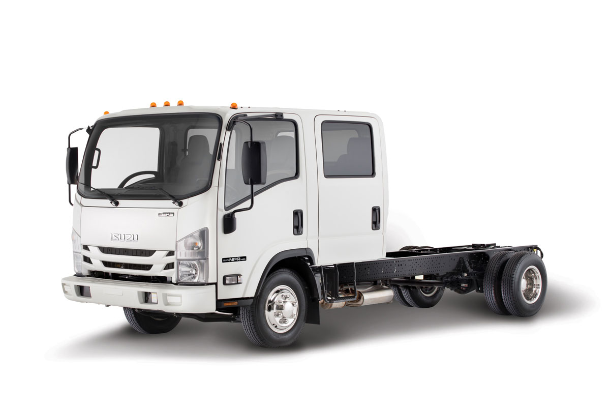 NPR-HD (Gas) Isuzu Double Cab Truck