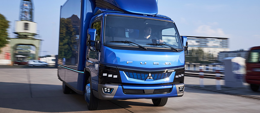FUSO eCanter Eletric Truck