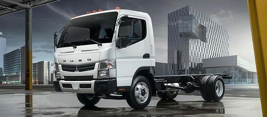 FUSO FE160 Gas Truck