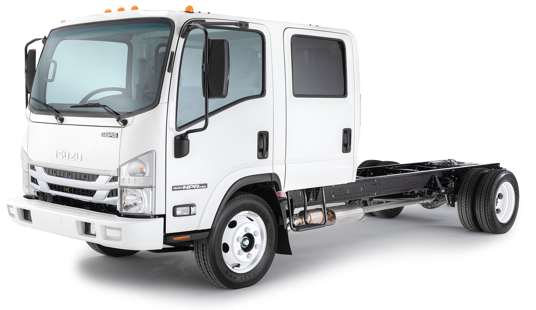 NPR-HD (Gas) Double Cab Truck